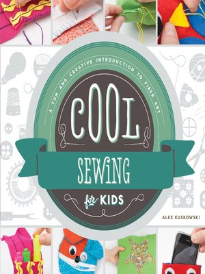 cover image of Cool Sewing for Kids